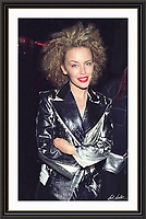 kylie minogue Piccadilly London 1994<br /> A2 Museum-quality Archival signed Framed Print (Limited Edition)
