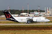 OO-DWJ, Brussels Airlines, British Aerospace BAE 146-300 Avro RJ100