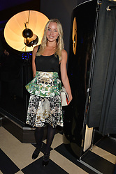 NOELLE RENO at a party to celebrate the 1st anniversary of Hello! Fashion Monthly magazine held at Charlie, 15 Berkeley Street, London on 14th October 2015.