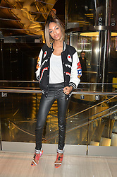 JOURDAN DUNN at the Veryexclusive.co.uk Launch Party held at Watches of Switzerland, 155 Regents Street, London on 20th February 2015.