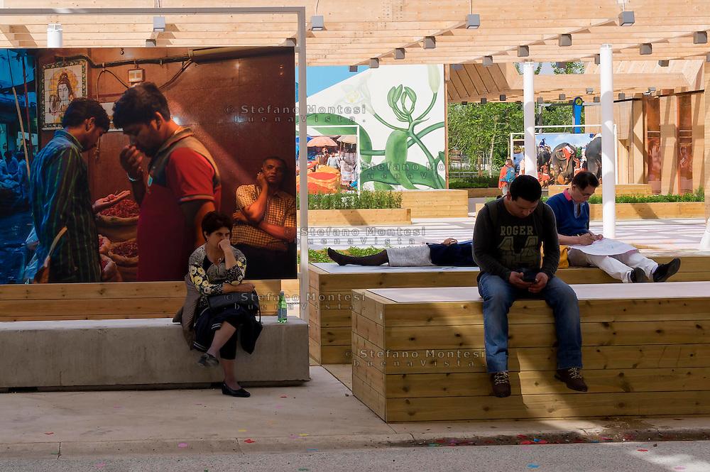 Milano 02  Maggio 2015 <br /> EXPO Milano 2015 Nutrire il pianeta -Energia per la vita<br /> Prima giorno di apertura al pubblico. <br /> Milan 2 may 2015<br /> EXPO Milano 2015 Feeding the planet -Energy for life<br /> First day of opening to the public.