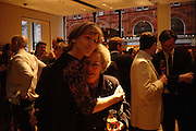 Santa Montefiore and Aunt Naomi Dawson. Book party for LAST VOYAGE OF THE VALENTINA by Santa Montefiore (Hodder & Stoughton) Asprey,  New Bond St. 12 April 2005. ONE TIME USE ONLY - DO NOT ARCHIVE  © Copyright Photograph by Dafydd Jones 66 Stockwell Park Rd. London SW9 0DA Tel 020 7733 0108 www.dafjones.com