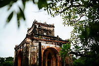 Part of Tu Duc's tomb, also known as the Summer Palace, in Hue, Vietnam.