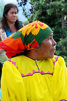 "Mexico, Chihuahua, Guachochi, July 17, 2010. A truly remarkable 100 kilometer ""ultra-marathon"" is held each year in Chihuahua's rugged Tarahumara country. Drawing hundreds of participants from all over the world to the scenic town of Guachochi, the course for this grueling endurance race takes runners in and then up out of the 1,830 meter deep ""Barranca Sinforosa,"" part of Mexico's famous Copper Canyon area. More at MexicoCulturalCalendar.com"
