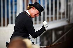 Werth Isabell, GER, Bella Rose<br /> Tryon - FEI World Equestrian Games™ 2018<br /> Backgroundbilder vom Abreiteplatz<br /> Grand Prix de Dressage Teamwertung und Einzelqualifikation<br /> 13. September 2018<br /> © www.sportfotos-lafrentz.de/Sharon Vandeput
