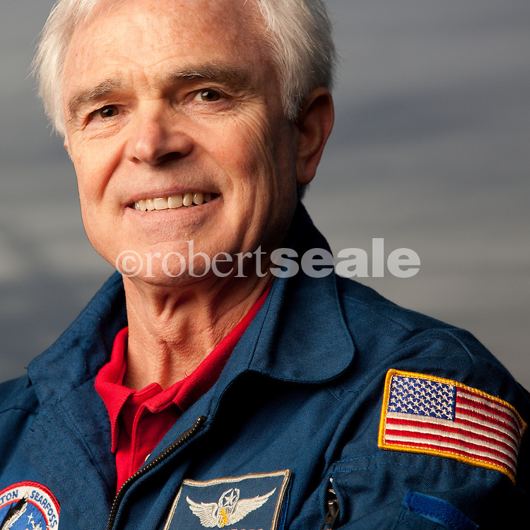 Former NASA astronaut Rich Clifford in Houston, Texas on Wednesday, Feb. 8, 2012.   Clifford, who flew on three Space Shuttle missions, was diagnosed with Parkinson's Disease in 1994 but kept his illness a secret during most of his career.  © 2012 Robert Seale
