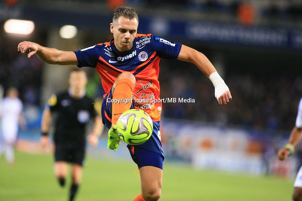 Kevin BERIGAUD - 09.01.2015 - Montpellier / Marseille - 20eme journee de Ligue 1<br />Photo : Nicolas Guyonnet / Icon Sport