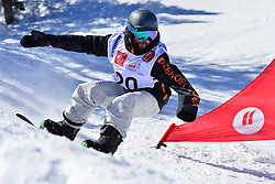 World Cup Banked Slalom, HAMOU Jonathan, FRA at the 2016 IPC Snowboard Europa Cup Finals and World Cup