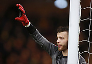 Norwich City's 'keeper Angus Gunn during the EFL Sky Bet Championship match between Norwich City and Sheffield Utd at Carrow Road, Norwich, England on 20 January 2018. Photo by John Marsh.