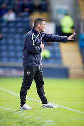 Raith Rovers Player-Coach Grant Murray.<br /> Raith Rovers 0 v 0 Falkirk, Scottish Championship game played 27/9/2014 at Raith Rovers Stark Park.