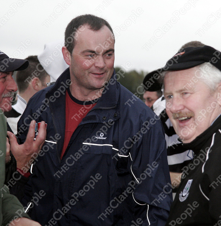 Anthony Daly was delighted for his old teams victory after Clarecastle beat Wolfe Tones during the Senior A Hurling Final in Cusack Park on Sunday.<br /> <br /> Photograph by Yvonne Vaughan.