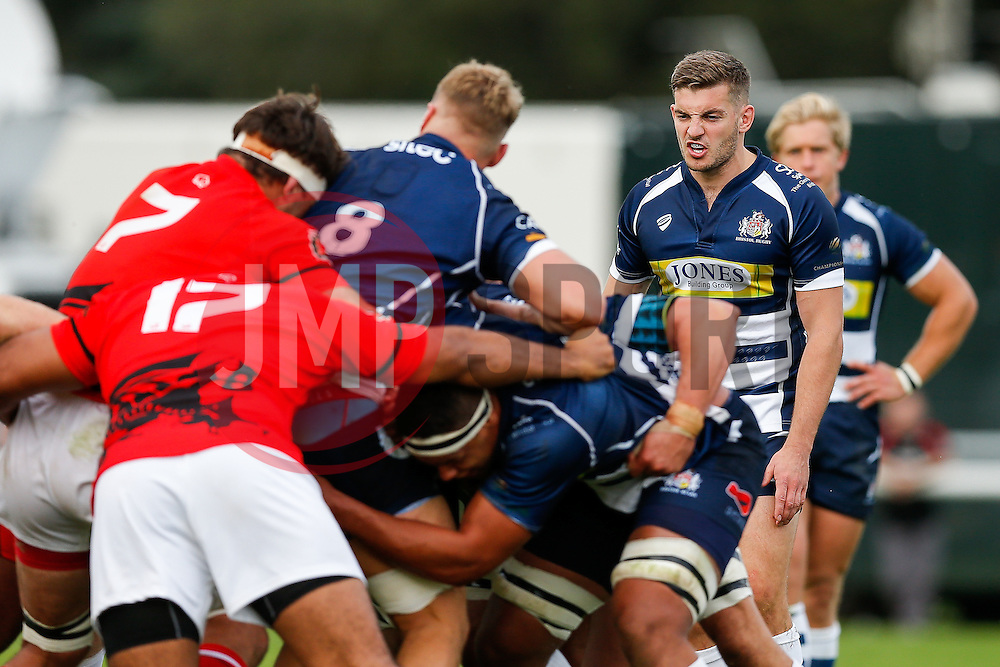 Bristol Rugby Scrum-Half Will Cliff - Mandatory byline: Rogan Thomson/JMP - 07966 386802 - 13/09/2015 - RUGBY UNION - Old Deer Park - Richmond, London, England - London Welsh v Bristol Rugby - Greene King IPA Championship.
