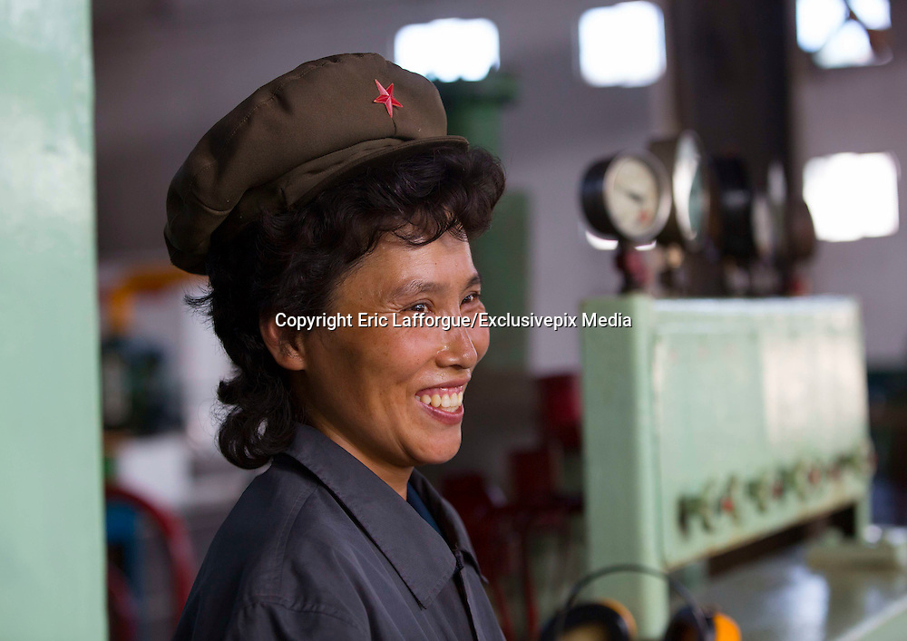 "I Have Seen North Korean People Smiling!<br /> <br /> ""Some say about North Korea that the only ones who smile are the ""Dear Leaders"" on the propaganda stuff"", says Photographer Eric Lafforgue<br /> <br /> But after 6 trips in the most closed country, I can say that North Koreans are not the robots many depict... They also smile!<br /> <br /> Even if they suffer from the lack of freedom and a dictatorship, they can have happy moments in their life... This was not easy to take those pics as the guides that always follow you are always suspicious, even when they see happy people!<br /> ©Eric Lafforgue/Exclusivepix Media"