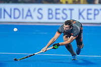 BHUBANESWAR, INDIA - Sander Baart (Ned)   tijdens de  finale tussen België en Nederland bij het WK Hockey heren in het Kalinga Stadion. COPYRIGHT KOEN SUYK