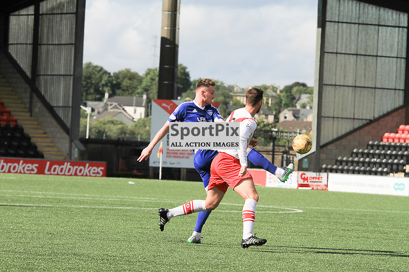 Airdrieonians V Peterhead  Scottish League One 29 August 2015;  Peterhead's Rory McAllister has a strike at goal during the Airdrieonians V Peterhead Ladbrokes Scottish League One match played at Excelsior Stadium, Airdrie.