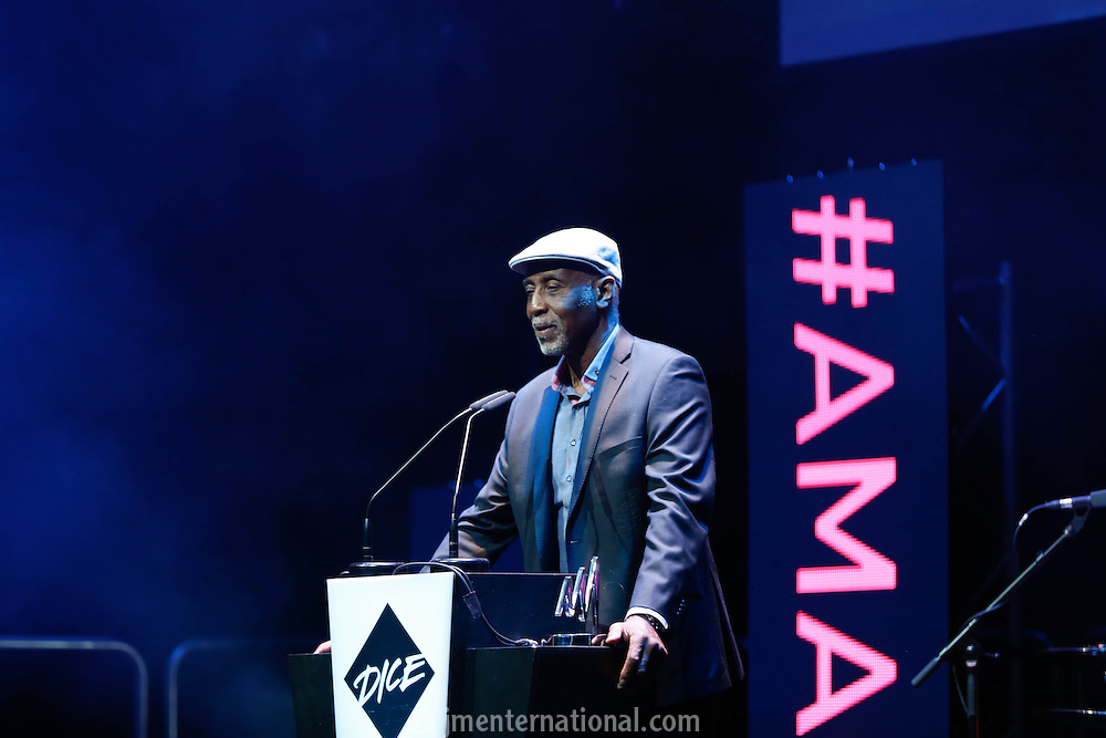 The Artist and Manager Awards 2015 sponsored by Dice. <br /> Held at The Troxy, London. <br /> Thursday, 26th March 2014. <br /> (Photo/John Marshall JME)