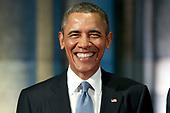 Barack Obama brengt bezoek aan het Rijksmuseum
