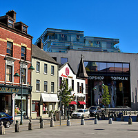 Opera Lane Shopping District in Cork, Ireland<br />