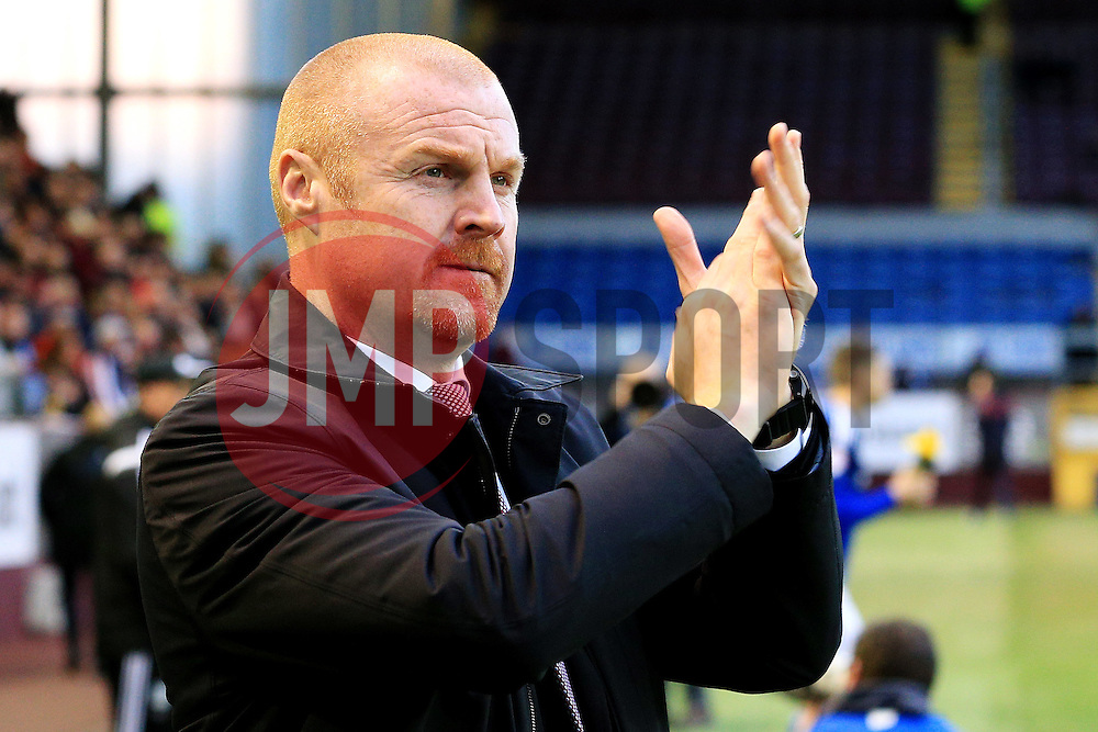 Burnley Manager Sean Dyche  - Mandatory by-line: Matt McNulty/JMP - 05/04/2016 - FOOTBALL - Turf Moor - Burnley, England - Burnley v Cardiff City - SkyBet Championship