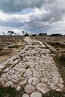 Parco Archeologico di Egnazia; via Traiana