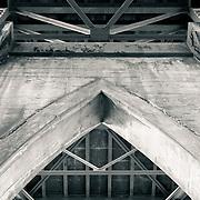 Under the St. John's Bridge - Portland, OR