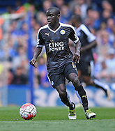 N'Golo Kante of Leicester City during the Barclays Premier League match against Chelsea at Stamford Bridge, London<br /> Picture by Andrew Timms/Focus Images Ltd +44 7917 236526<br /> 14/05/2016