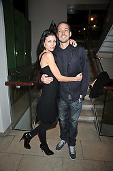 LIBERTY ROSS and her husband RUPERT SANDERS at the MAC Salutes party paying tribute to renowned makeup artists held at The Hosptal, Endell Street, London on 22nd February 2009.
