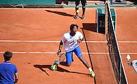 Gael MONFILS - 23.05.2015 - Tennis - Journee des enfants - Roland Garros 2015<br /> Photo : David Winter / Icon Sport