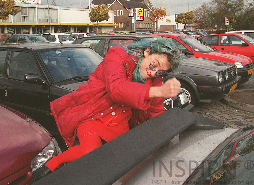 The Swiss video artist Pipilotti Rist in the Dutch city Sittard NOV. 8, 1997. Photo: Erik Luntang.