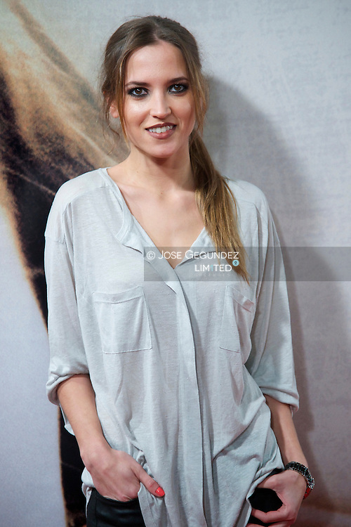 Ana Fernandez attends 'Venuto Al Mondo' Premiere at Capitol Cinema in Madrid