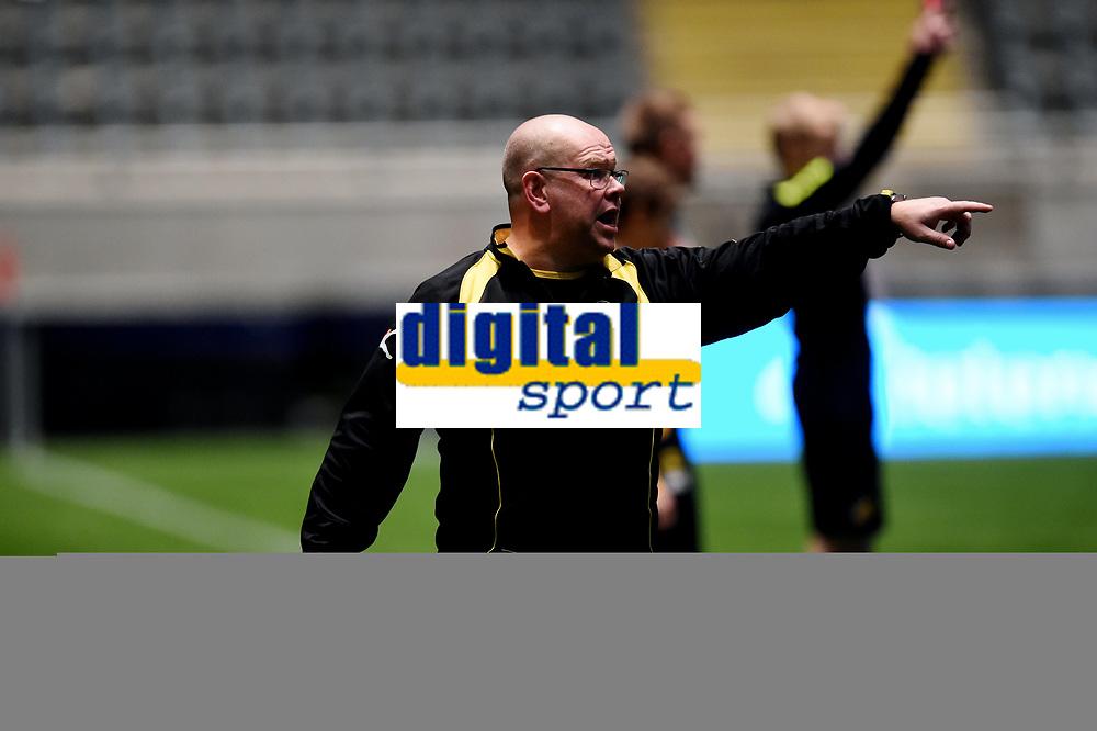 Fotball , 20 . november 2015 , NM finale G16<br /> Brann - Lillestrøm 1-4<br /> trener Jan Roger Sannerud  , LSK