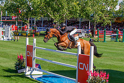 Kuipers Doron (NED) - Amparo Z<br /> CN International Grand Prix<br /> CSIO Spruce Meadows - Calgary 2013<br /> © Dirk Caremans