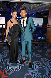 ASTON MERRYGOLD and SARAH RICHARDS at The Butterfly Ball in aid of Caudwell Children held at the Grosvenor House, Park Lane, London on 25th June 2015