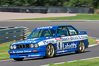 #4 Paul HOGARTH BMW E30 M3 during HSCC Dunlop Saloon Car Cup  as part of the HSCC Oulton Park Gold Cup  at Oulton Park, Little Budworth, Cheshire, United Kingdom. August 24 2019. World Copyright Peter Taylor/PSP. Copy of publication required for printed pictures.
