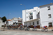 Illustration peloton, Scenery, during the UCI World Tour, Tour of Spain (Vuelta) 2018, Stage 7, Puerto Lumbreras - Pozo Alcon 185,7 km in Spain, on August 31th, 2018 - Photo Luca Bettini / BettiniPhoto / ProSportsImages / DPPI