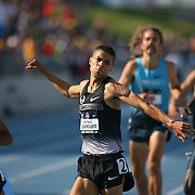 CENTROWITZ - 13USA, Des Moines, Ia.  - Matt Centrowitz punched the air after winning the 1500.  Photo by David Peterson