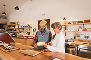 Suzy and Roger Wechsler, owners and operators of Samish Bay Cheese