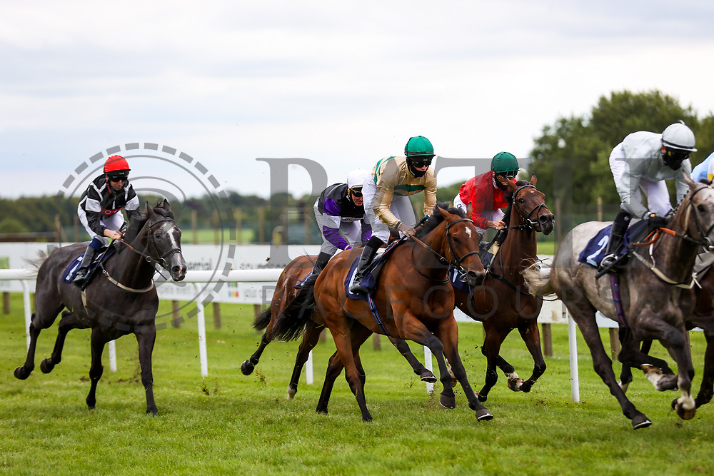 Deposit ridden by Dylan Hogan (T: David Simcock) wins the 16:10 Visit valuerater.co.uk For Free Handicap - Rogan/JMP - 14/07/2020 - HORSE RACING - Bath Racecourse - Bath, England.