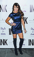Lizzie Cundy, A Night With Nick, INK, London UK, 04 December 2013, Photo by Raimondas Kazenas