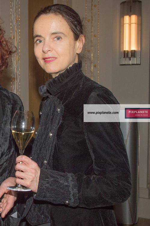 Amélie  Nothomb  Prix Décembre 2019 Jeudi 7 Novembre 2019 Hôtel Lutétia Paris