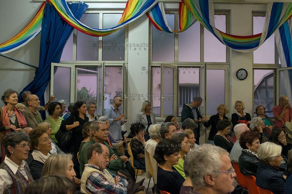 Roma, 05/10/2013: La comunità cristiana di Base di San Paolo festeggia i 40 anni dalla sua costituzione.