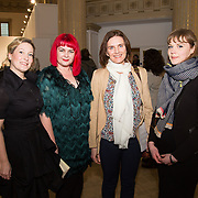 23.03.16<br /> LSAD are delighted to host SYMBOLS: Culture of Death and Cultural Life, a Creative Europe Project under the European Commission. <br /> <br /> Attending the exhibition were, Fiona Quill, LSAD, Dr. Tracy Fahey, Head of Department of Fine Art, LSAD, exhibiting artists, Mary O'Dea and Gemma Dardis.<br /> <br /> LSAD are one of the seven partners in this Creative Europe project which is running from 2014-2016. This exhibition will feature work from international printmakers, dancers and musicians from 7 European countries. This show embraces not only the work created by these artists during two residencies responding to the theme of symbols, one in Aviles, Spain and one in Dundee Scotland and includes work by Limerick artists, musicians and dancers, Gemma Dardis, Mary O'Dea, Jennifer Brown and Hannah Fahey, but also offers a response by the students of the printmaking department in LSAD to the historic Limerick cemeteries of Mount St. Lawrence and St. John's. The students created an exciting and thought provoking body of work which is showing along side these international artists. Picture: Alan Place/Fusionshooters