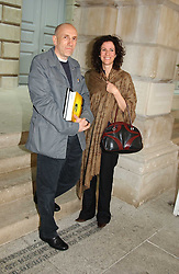 BRIAN CLARK and MOLLIE DENT-BROCKLEHURST at the Royal Academy of Arts Summer Exhibition Preview Party held at Burlington House, Piccadilly, London on 2nd June 2005<br /><br />NON EXCLUSIVE - WORLD RIGHTS