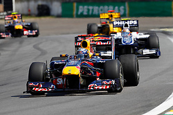 Motorsports / Formula 1: World Championship 2010, GP of Brazil, 05 Sebastian Vettel (GER, Red Bull Racing),