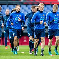 161022 - Training Feyenoord voor de Klassieker