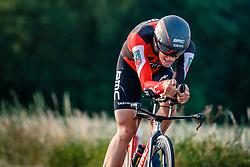 Floris Gerts of BMC Racing Team, Dutch Individual Time Trial Nationals Men Elite, Stokkum, Montferland, The Netherlands, 21 June 2017. Photo by Pim Nijland / PelotonPhotos.com | All photos usage must carry mandatory copyright credit (Peloton Photos | Pim Nijland)
