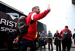 Gary O'Neil of Bristol City arrives at The Pirelli Stadium for the Sky Bet Championship match with Burton Albion - Mandatory by-line: Robbie Stephenson/JMP - 10/03/2018 - FOOTBALL - Pirelli Stadium - Burton upon Trent, England - Burton Albion v Bristol City - Sky Bet Championship