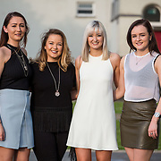 13.05.2016.           <br /> Joanne McKinney, Kieva mcBride, Arlene McLaughlin and Catherine Smyth all from Donegal pictured at the much anticipated Limerick School of Art & Design, LIT, (LSAD) Graduate Fashion Show on Thursday 12th May 2016. The show took place at the LSAD Gallery where 27 graduates from the largest fashion degree programme in Ireland showcased their creations. Ranked among the world's top 50 fashion colleges, Limerick School of Art and Design is continuing to mold future Irish designers.. Picture: Alan Place/Fusionshooters