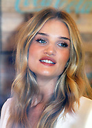 Rosie Huntington-Whitely Launches Coca-Cola Life