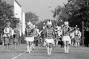 Goole Jubilee Jazz Band.1988 Yorkshire Miner's Gala. Wakefield.